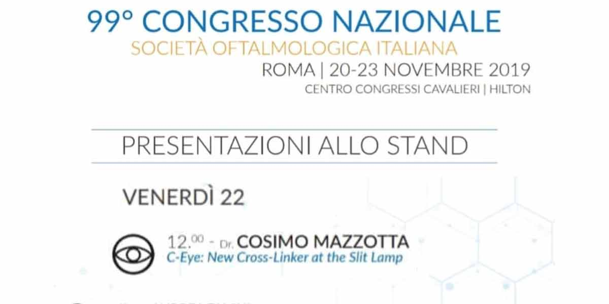 C-Eye device at 2019 SOI Congress in Rome